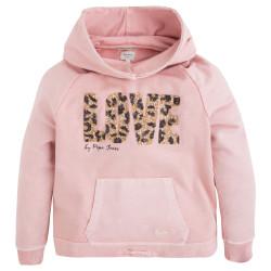 Sudadera rosa palo Pepe Jeans