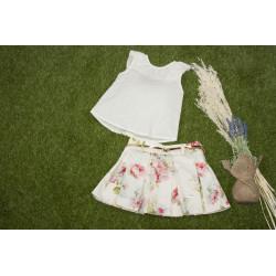 MARTA Y PAULA conjunto de falda y blusa
