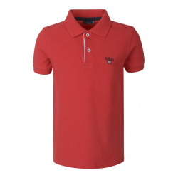 LION OF PORCHES polo rojo