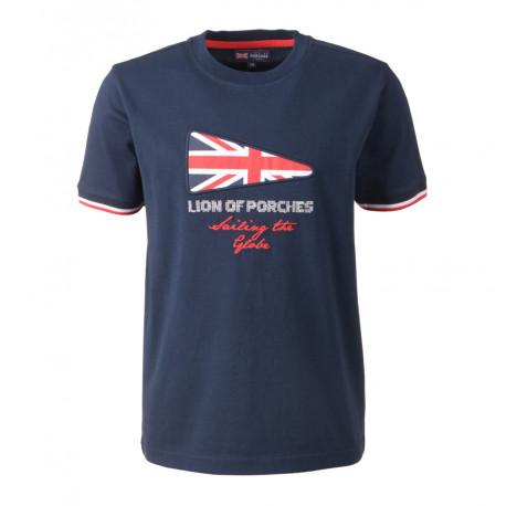 LION OF PORCHES camiseta marino