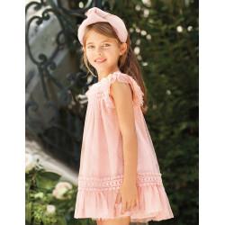 ABEL Y LULA vestido tul rosa