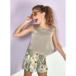 AMAYA conjunto de short con blusa
