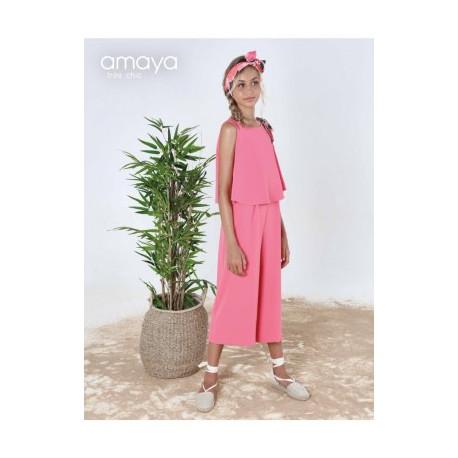 AMAYA mono rosa fresa