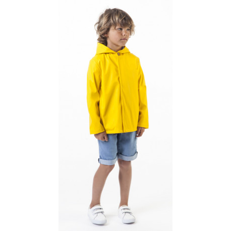 Carrement beau impermeable amarillo