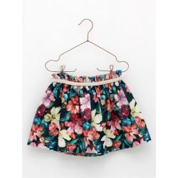 FOQUE falda estampada flores SAUCES