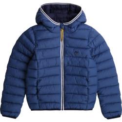 TIMBERLAND plumas ligero con capucha en azul