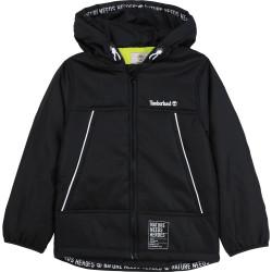 TIMBERLAND chaqueta con capucha en negro