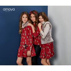 Conjunto de falda gatitos AMAYA