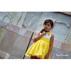 NOMA FERNANDEZ vestido amarillo ALICE