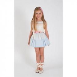 KAULI ALICIA falda azul